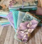 Fat Quarter Paket TAKESHI Hoffman Fabrics - 4 Fat Quarter - 1 Meter