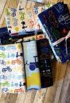 Fat Quarter Paket UNTERWEGS - 3 Fat Quarter Hoffman California