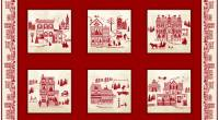 Home for the Holidays - Paneel - Studio E Fabrics 60 x 110 cm