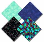 Fat Quarter Paket - Tropische Nacht - Timeless Treasures