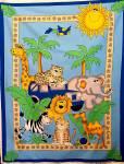Safari Friends - Hoffman California - Fixpackung - 110 x 90  cm