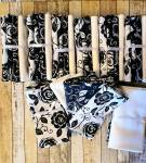 Fat Quarter Paket - Black Power - Henry Glass