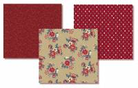 .Marcus Fabrics - Blue Meadow Medley - FQ Paket