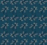 Marcus Fabrics - Full Circle - Sweet Verbena BLAU