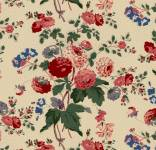 Marcus Fabrics - Full Circle - Vintage Nosegay - Blumenbouquets