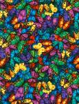 Packed Butterflies  - Timeless Treasures