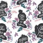 Dear Stella - Empowered - Silhouetten mit Sprüchen