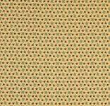 Journey to America - Marcus Fabrics Farne und Ornamente auf Ockergelb