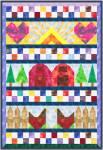 Meine kleine Welt - Miniquilt 54 x 78 cm - Anleitung pdf Datei