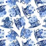 Blue Jubilee - Blue Dishes - blaue Tassen